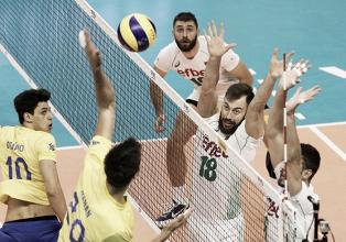 Brasil se despede da Bulgária com derrota para os anfitriões na segunda etapa da Liga Mundial