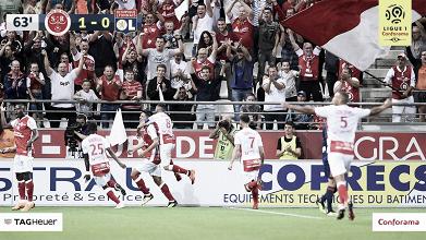 El Stade de Reims da la sorpresa y vence al Lyon