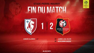 Le Stade Rennais s'impose à Lille