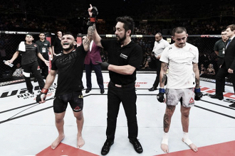 Lineker e Marreta vencem na abertura do card principal do UFC São Paulo