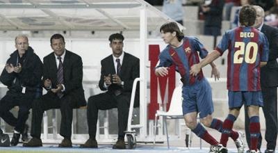A trece años, del debut de Messi en el Barcelona