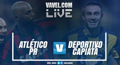 Jogo Deportivo Capiatá x Atlético-PR na Libertadores 2017