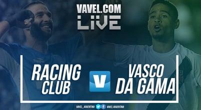Resumen Racing 4-0 Vasco Da Gama en Copa Libertadores 2018