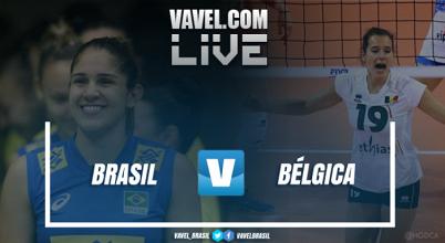 Resultado Brasil x Bélgica pelo Grand Prix de Vôlei (3-0)