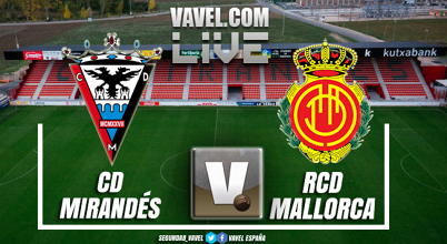 Mirandés vs Mallorca en vivo y en directo online en playoffs de ascenso a Segunda 2018