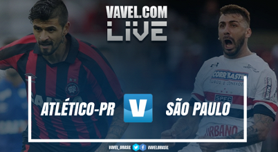 Resultado Atlético-PR x São Paulo (1-0)
