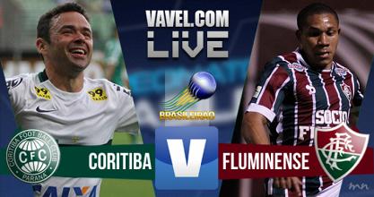 Resultado Coritiba x Fluminense no Brasileirão 2016 (1-1)