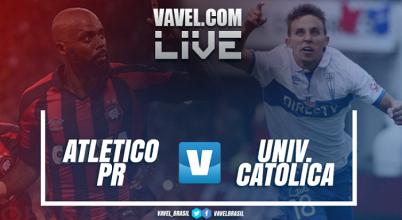 Resultado Atlético-PR x Universidad Católica na Libertadores 2017 (1-0)