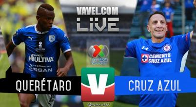 Resultado y goles del Querétaro 1-2 Cruz Azul de la Liga MX 2017