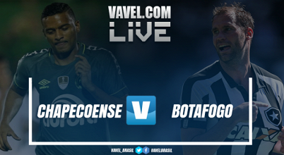 Resultado Chapecoense x Botafogo no Campeonato Brasileiro 2017 (0-2)