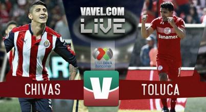 Resultado del partido Chivas 1-1 Toluca de las Semifinales de la Liga MX 2017
