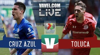 Resultado y goles del Cruz Azul 0-0 Toluca de la Liga MX 2017