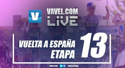 Resultado de la décimo tercera etapa de la Vuelta a España 2017: Trentin cumple con las apuestas
