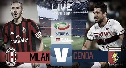 Milan- Genoa in diretta, LIVE Serie A 2017/18 (15:00)