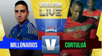 Millonarios sufrió pero venció a Cortuluá (2-1)