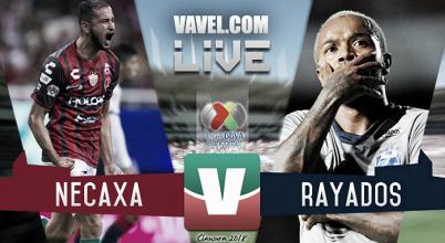 Resultado y Goles del partido Necaxa (3-0) Monterrey