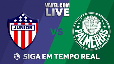 Resultado Junior Barranquilla 0-3 Palmeiras pela Copa Libertadores 2018