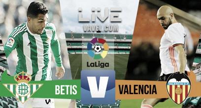 Resumen Betis 0-0 Valencia en La Liga 2017