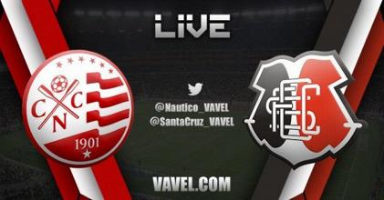 Resultado Náutico x Santa Cruz pelo Campeonato Brasileiro da Série C (1-1)