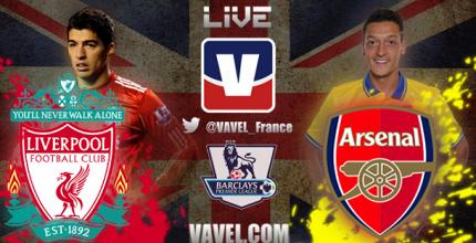 Live Liverpool - Arsenal, le match en direct