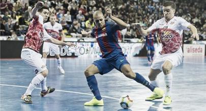 Resumen Barcelona 2-3 ElPozo Murcia en la LNFS 2017