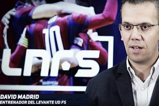 """David Madrid: """"Dependemos de nosotros mismos para conseguir la permanencia"""""""