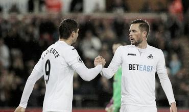 Swansea no planea desprenderse del tándem Sigurdsson-Llorente