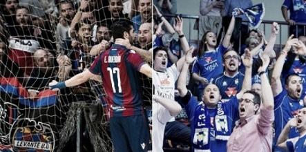 Levante y Valdepeñas reciben el premio a la mejor afición 2016/2017