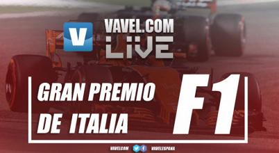 Resultados del GP de Italia 2017 de Formula 1