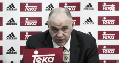 """Pablo Laso: """"Nos faltó chispa para romper antes el partido""""."""