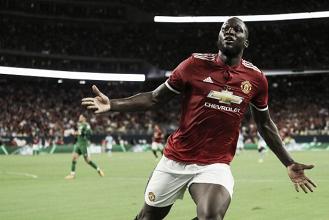 Lukaku marca e United bate City em clássico histórico pela Champions Cup