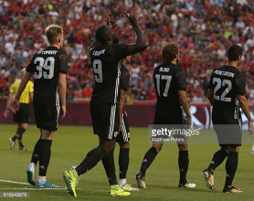 Romelu Lukaku lights up Houston as the Reds triumph in first Manchester derby on foreign soil