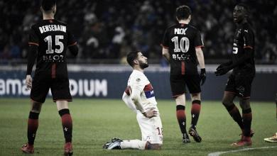 El Rennes se gusta a costa de un desconocido Lyon