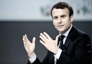 Las ciudades, territorio Macron