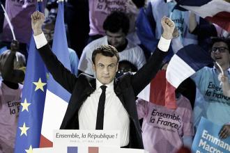Macron arrolla a Le Pen y al abstencionismo