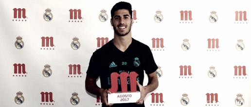 Marco Asensio, jugador cinco estrellas de mahou de Septiembre