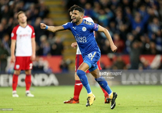 Leicester City 1-1 West Bromwich Albion: Mahrez the man as Foxes make comeback