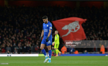 Arsenal reportedly planning move for Riyad Mahrez