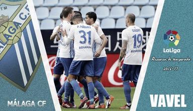 Resumen Málaga CF 2016-17: sufrimiento para llegar a los diez años en la élite