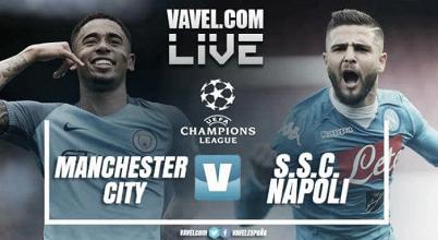 Manchester City vs Napoli en vivo y en directo online en Champions League 2017 (0-0)