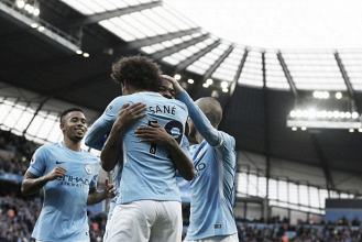 Premier League - Il Manchester City esagera, sbrana i Potters e vola in testa (7-2)