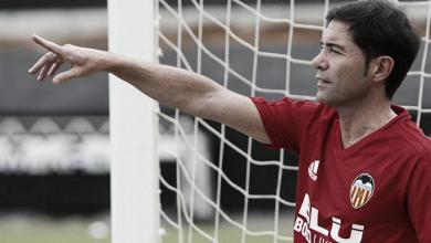 Marcelino analiza la situación de los canteranos en el primer equipo