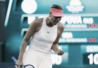 WTA Stanford: Sharapova survives Brady battle in return from injury