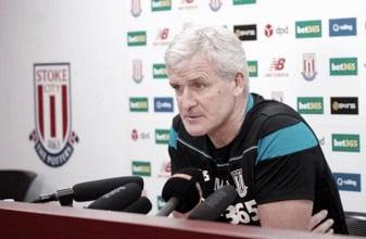 Newcastle United - Stoke City: Mark Hughes' pre-match comments