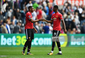 Who should start for Manchester United, Marcus Rashford or Anthony Martial?