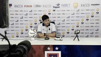 """Técnico do Paraná aponta nervosismo como motivo para derrota: """"Sentimos o gol"""""""