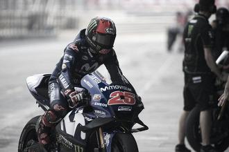 """Maverick Viñales: """"En la salida la moto no tenía potencia"""""""