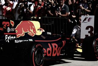 Red Bull en el GP de Austin 2017: unos tanto y otros tan poco