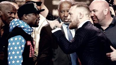 Previa Mayweather vs McGregor: todo listo para el sábado