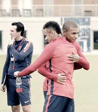 """Mbappé: """"El entrenador Emery habla mucho sobre el juego"""""""